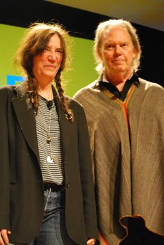 Icons: Patti Smith and Neil Young