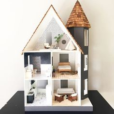 sunday is for solitude and simplicity. cleaning and clearing today… sunday is for solitude and simplicity. cleaning and clearing today… Modern Dollhouse, Diy Dollhouse, Dollhouse Furniture, Dollhouse Interiors, Doll House Plans, Mini Doll House, Barbie House, Miniature Houses, Kid Spaces