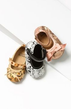 Oh.my.goodness. These are the sweetest baby shoes ever! Baby Stuart Weitzmans! http://rstyle.me/n/dnmb6nyg6