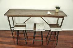 Realizzazione artigianale di tavoli - Emanuele Pricolo
