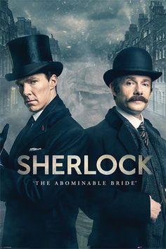 Sherlock special, Benedict Cumberbatch as Sherlock Holmes & Martin Freeman as John Watson Sherlock Bbc, Sherlock Poster, Benedict Sherlock, Jim Moriarty, Sherlock Season, Watch Sherlock, Sherlock Series, Sherlock Cumberbatch, Sherlock Fandom
