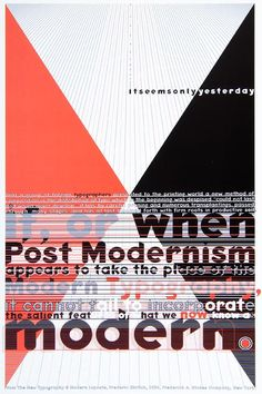 essay on postmodernism and modernism