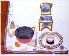 Tea by Sheila Robinson Storm In A Teacup, Linocut Prints, Online Art Gallery, Color Patterns, Printmaking, Illustration Art, Angie Lewin, Drawings, British Artists