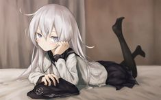 Download wallpapers Hibiki, manga, Kancolle, anime characters, Kantai Collection