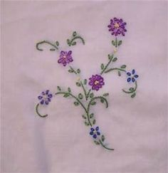 Small Flower Embroidery Stitches - Saferbrowser Yahoo Image Search Results
