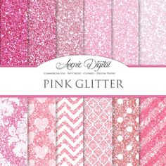 Papel Digital brillo rosado. Antecedentes de por AvenieDigital