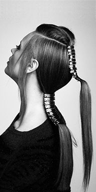Hair blow-dried with Trilliant before the top was sectioned off. Blow Dry, Dreadlocks, Bts, Hair Styles, Beauty, Hair Plait Styles, Hair Makeup, Hairdos, Haircut Styles