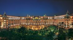 Inspired by an Indo-Sarcenic style of architecture, and helped by Bangalore's regal past plus high-tech present, The Leela Palace offers best of business amenities and hedonists delights.