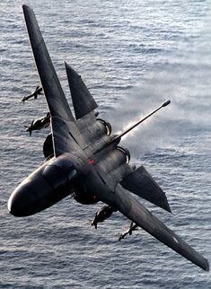 F-111 low level over water
