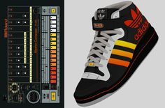 Disturb the peace with the TR-808 Roland 808 Adidas concept kick