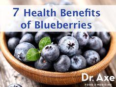 Health Benefits of Blueberries #health #blueberries
