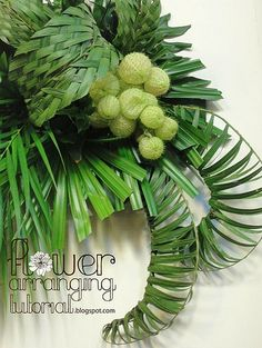 green palm wall decoration 6