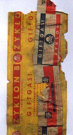 A Zyklon B Label from Majdanek, from the State Museum of Majdanek  The Holocaust - Yad Vashem