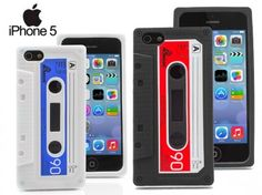 Funda Retro Cassette para iPhone 5 y 5S