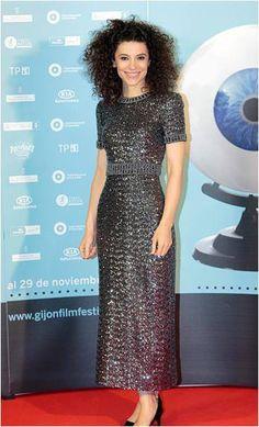 La actriz Irene Visedo lució un vestido de Tot-Hom en International Film Festival de Gijón. #premioscinegijon #irenevisedo #actrizespañola #tothom #alfombraroja #photocall #moda #modamujer