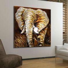 african wall sculpture art | ... home Decor #069 BLUE METAL WALL SCULPTURE african landscape art