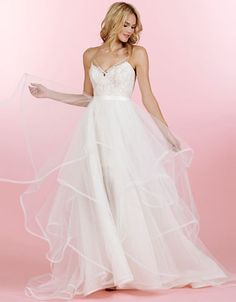 Wedding Gowns   Hayley Paige Lace Tulle Ball Gown   Hudson's Bay