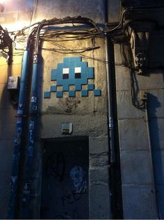 Space Invader in Bilbao