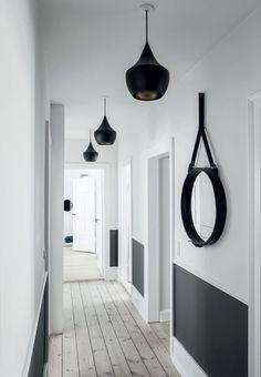 luminaire pour entrée et couloir éclairage décoratif suspensions Decor, House Design, Hallway Paint, Interior Walls, Hallway Designs, Home Decor, House Interior, Home Deco, Interior Decorating
