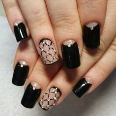 Try some of these designs and give your nails a quick makeover, gallery of unique nail art designs for any season. The best images and creative ideas for your nails. Trendy Nails, Fancy Nails, Diy Nails, Cute Nails, Manicure Ideas, Gel Manicure, Nail Ideas, Nail Art Designs 2016, Cute Nail Designs