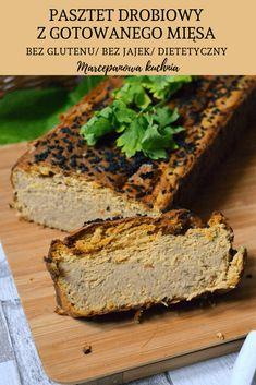 Pasztet drobiowy dietetyczny Cooking Recipes, Healthy Recipes, Kielbasa, Polish Recipes, Food Inspiration, Banana Bread, Food To Make, Food And Drink, Gluten Free