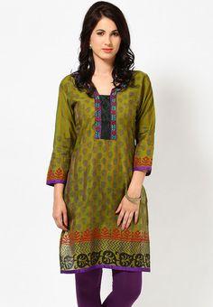 Kurta #indian kurti #ayaany #kurti #indianethnic #ethnic Indian Suits, Indian Dresses, Indian Ethnic, Kurtis, Well Dressed, Indian Fashion, Stitches, Feminine, Tunic Tops