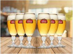 Jogo de Taças para Cerveja de Vidro 6 Peças - 250ml Ambev Stella Artois com as melhores condições você encontra no Magazine Jsantos. Confira!