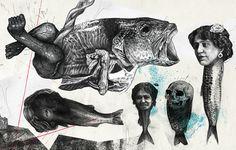 La pescadería se ha vuelto imposible con las nuevas especies  Obra de Nicola Alessandrini