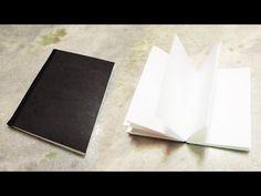 Como fazer um Sketch Book passo a passo - YouTube