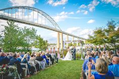 ceremony on Moon Property in Chesapeake City MD
