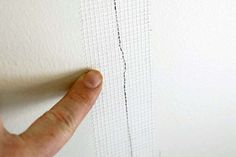 Cracks in Drywall: 5 Steps to a Permanent Fix