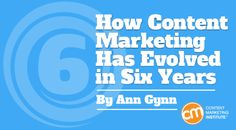 How Content Marketing Has Evolved in Six Years