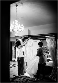 West Tower Wedding Photography - morning preperation
