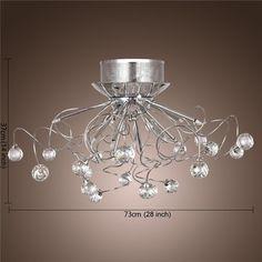 Fantastisch Großhandel Moderne Kristall Led Kronleuchter Leuchte Decke Beleuchtung  Kristall Kronleuchter Lampen Pendent Licht Mit 11 G4 Leuchten Von Cnmall,  ...