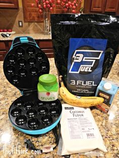 banana protein donut holes ingredients