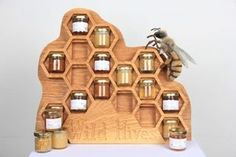 CNC Machining Project: Wild Hives Honey Display: 11 Steps (with Pictures)