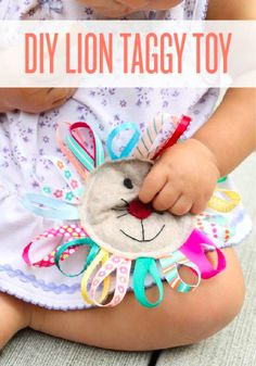 A great toy for baby and simple to make.