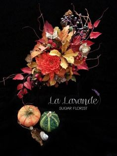 All Things Autumn Sugar Arrangement - Cake by La lavande Sugar Florist