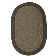 August Grove Rupert Hand-Woven Brown Area Rug Rug Size: