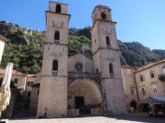 Igreja da praça Kotor Montenegro
