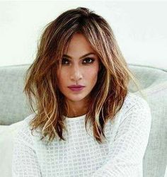 tiger eye hair color is my next look. Medium Hair Cuts, Medium Hair Styles, Short Hair Styles, Haircut Medium, Jlo Short Hair, Mechas Tiger Eye, Brown Ombre Hair, Mid Length Hair, New Haircuts