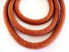 Braided Trim Rope Cord Semisoft Climbing Cord Metallic by vess65