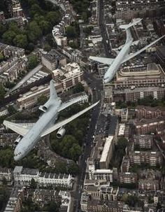 Queen's Birthday Flypast  RAF's KC-1Tri-Star and the wonderful VC10