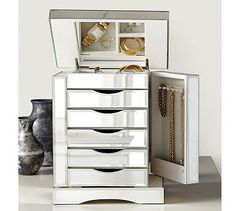 Mirrored jewlery box Apartment Purchases Pinterest Box and