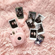 New Ideas Birthday Aesthetic Photography Pink Polaroid Camera, Instax Mini Camera, Cute Camera, Polaroid Pictures, Wedding Gifts For Couples, Unique Wedding Gifts, Instax Mini Ideas, Camera Hacks, Camera Gear