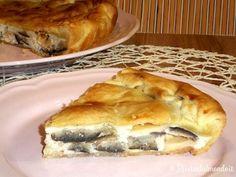 Ricetta per Torta Salata di Brisè alle Melanzane