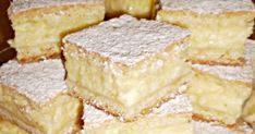 Sweet Desserts, Sweet Recipes, Good Food, Yummy Food, Czech Recipes, Hungarian Recipes, Dessert Bars, Food Dishes, Sweet Tooth