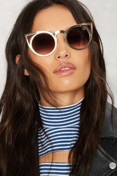 Get well-rounded with vintage-inspired shades.