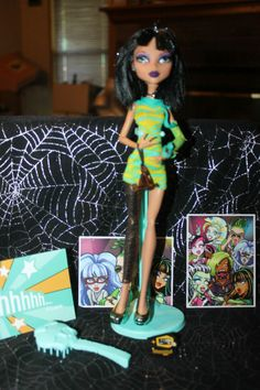MONSTER HIGH DOLL CLEO DE NILE DAWN OF THE DANCE!!!