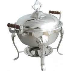5QT-Stainless-Round-Chafer-Chafing-Dish-Catering-Banquet-Buffet-Food-Tray-Warmer